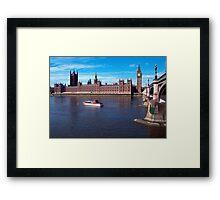 House of Parliament , London, England Framed Print