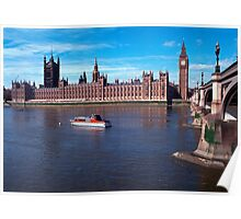 House of Parliament , London, England Poster