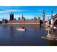 House of Parliament , London, England Photographic Print
