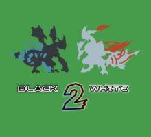Pokemon Black and White 2 One Piece - Short Sleeve