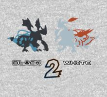 Pokemon Black and White 2 One Piece - Short Sleeve
