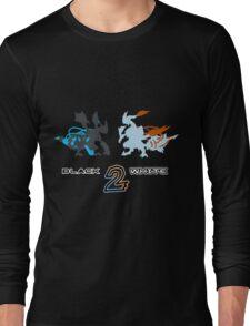 Pokemon Black and White 2 Long Sleeve T-Shirt