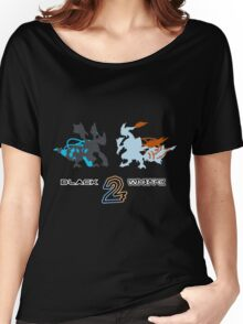 Pokemon Black and White 2 Women's Relaxed Fit T-Shirt