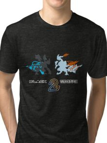 Pokemon Black and White 2 Tri-blend T-Shirt