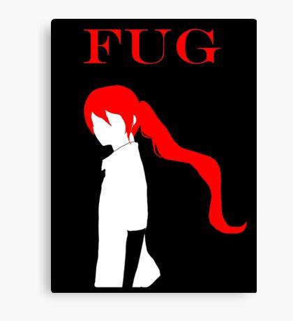 FUG Slayer Candidate Jyu Viole Grace Canvas Print