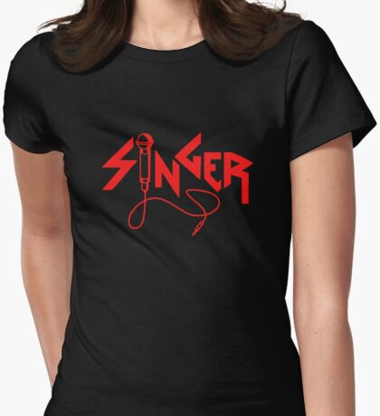 Singer Womens Fitted T-Shirt