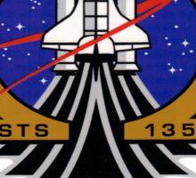 Last Flight of Atlantis (OV-104) and the Shuttle Program Sticker