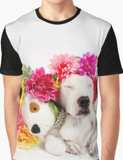 Beebs & Babes Flower Crown Graphic T-Shirt