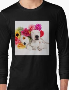 Beebs & Babes Flower Crown Long Sleeve T-Shirt