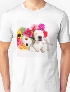 Beebs & Babes Flower Crown Unisex T-Shirt