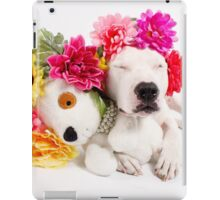 Beebs & Babes Flower Crown iPad Case/Skin