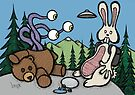 Teddy Bear and Bunny - The Confession by Brett Gilbert
