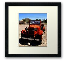 Hot Red  Framed Print
