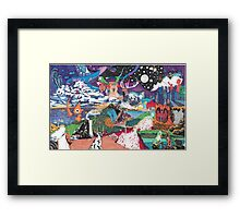The Fabric Framed Print