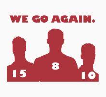 We Go Again! Liverpool YNWA One Piece - Short Sleeve