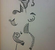 Alien Girl by Leda D