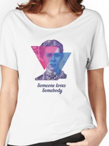 2-BI Lesya - Someone Loves Somebody Women's Relaxed Fit T-Shirt