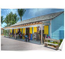 Pompey Market Place in Nassau, The Bahamas Poster
