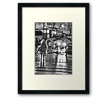 ALIEN INVASION Framed Print