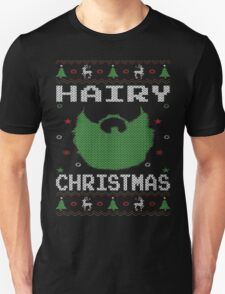 Hairy Christmas Beard Ugly Sweatshirt T-Shirt