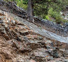 Glacial Worn Bedrock, Smooth and Gouged by rjcolby