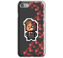 Pixel Harvey Dent / Two Face (The Dark Knight Trilogy) iPhone Case/Skin