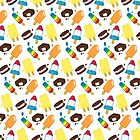 Frozen Treats Popsicle Print by Jetpack