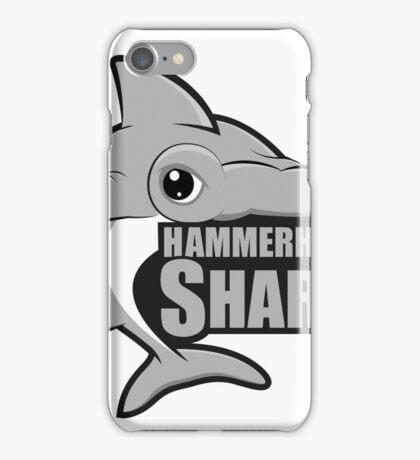 Shark. Silver Hammerhead Shark iPhone Case/Skin