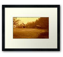 Dead Property Framed Print