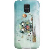 little wood owl Samsung Galaxy Case/Skin