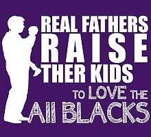 Real Fathers Raise Their Kids To Love The All Blacks by fashionera