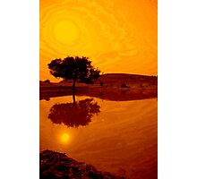 Desert Reflections Photographic Print