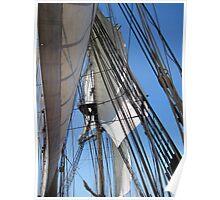 Brig Niagara - the view aloft Poster