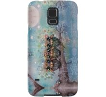 three little night owls Samsung Galaxy Case/Skin