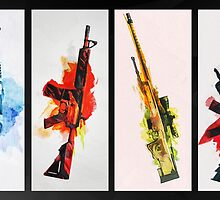 CS:GO Colorful Weapons 2 by LexyLady