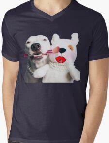 Girls Just Wanna Have Fun Mens V-Neck T-Shirt