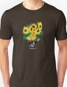 Sunflowers in Darth Vader Vase T-Shirt