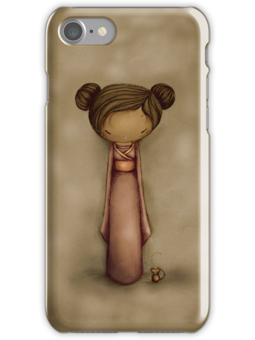 kokeshi iPhone and iPod case by © Karin Taylor