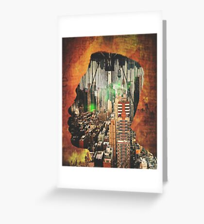 Urban Thought Greeting Card