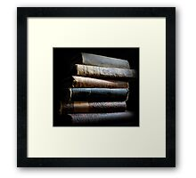 Can't Do This with E Books Framed Print