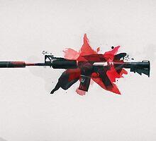 CS:GO M4A1-S Cyrex by LexyLady