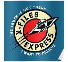 X-Files Express Poster