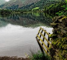 Grasmere Lake and view by Karen  Betts