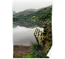 Grasmere Lake and view Poster