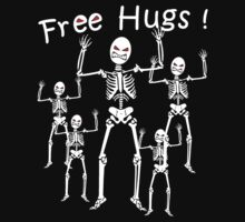 Free Hugs! (WHITE) by ezcreative