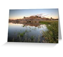 MirrorMarsh 2 Greeting Card