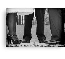 Formal Footwear Canvas Print