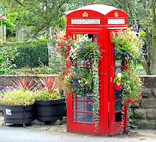 Telephone Box - Spofforth - North Yorkshire by Colin J Williams Photography