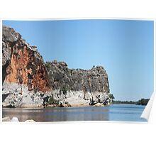 Geike Gorge, Western Australia Poster