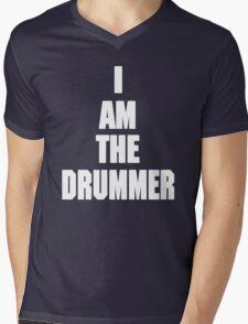 I AM THE DRUMMER (i prefer the drummer) Mens V-Neck T-Shirt